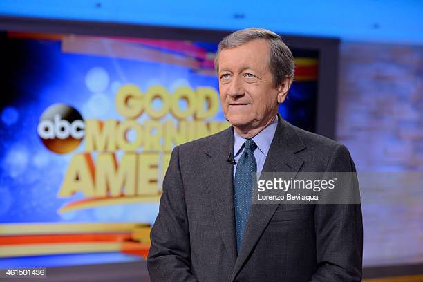 AMERICA Brian Ross on 'Good Morning America' 1/12/15 airing on the ABC Television Network