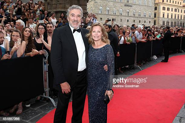 Brian Russell and Cheryl Ladd attend the Celebrity Fight Night In Italy Benefitting The Andrea Bocelli Foundation and The Muhammad Ali Parkinson...