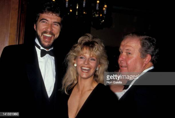 Brian Russell, Cheryl Ladd and Ned Beatty at the Child Help Benefit Gala, Century Plaza Hotel, Century City.