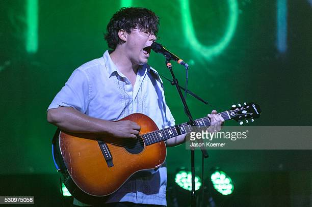 Brian Sella of The Front Bottoms performs at Revolution on May 10 2016 in Fort Lauderdale Florida