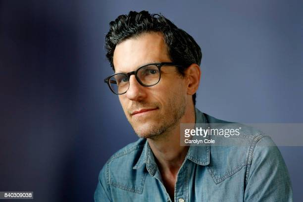 Brian Selznick is photographed for Los Angeles Times on August 19 2017 in New York City PUBLISHED IMAGE CREDIT MUST READ Carolyn Cole/Los Angeles...