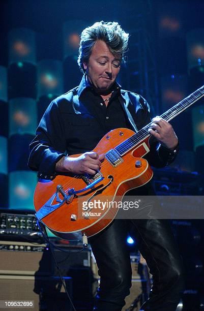 Brian Setzer during The 17th Annual Rock and Roll Hall of Fame Induction Ceremony Show at WaldorfAstoria in New York New York United States