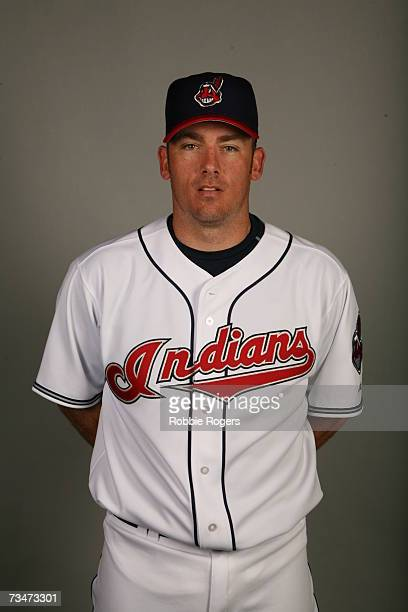 Brian Sikorski of the Cleveland Indians poses during photo day at Chain of Lakes Park on February 27 2007 in Winter Haven Florida