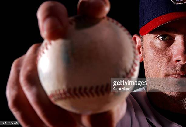 Brian Sikorski of the Cleveland Indians poses for a portrait during the Cleveland Indians photo day on February 27 2007 at Chain of Lakes Park in...