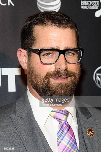 Brian Sims attends the 2013 OUT100 gala at Terminal 5 on November 14 2013 in New York City