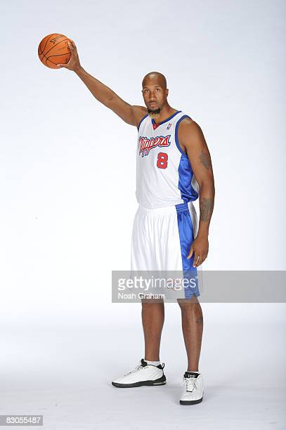Brian Skinner of the Los Angeles Clippers poses for a portrait during NBA Media Day on September 29 2008 at the Clippers Training Facility in Playa...