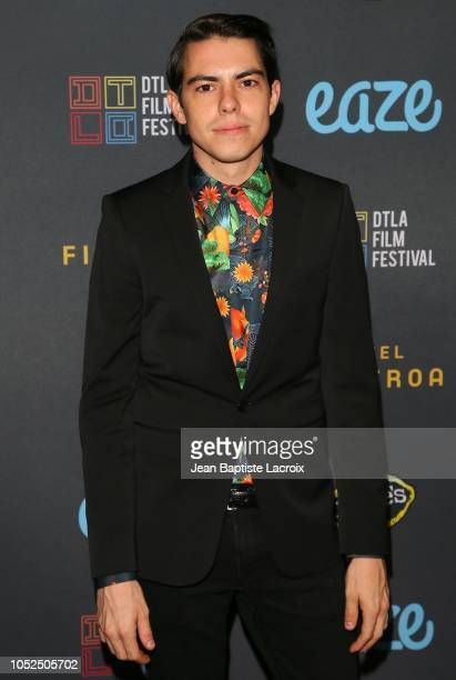 Brian Smith attends the 2018 Downtown Los Angeles Film Festival - 'All Creatures Here Below' 'Original Sin' And Perception' Press line held at Regal...