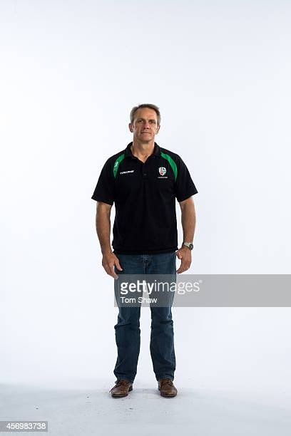 Brian Smith of London Irish poses for a picture during the BT PhotoShoot at Sunbury Training Ground on August 27 2014 in Sunbury England
