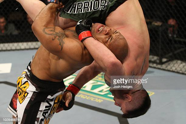 Brian Stann def Rodney Wallace Unanimous Decision during The Ultimate Fighter 10 Finale at The Pearl at the Palms on December 5 2009 in Las Vegas...