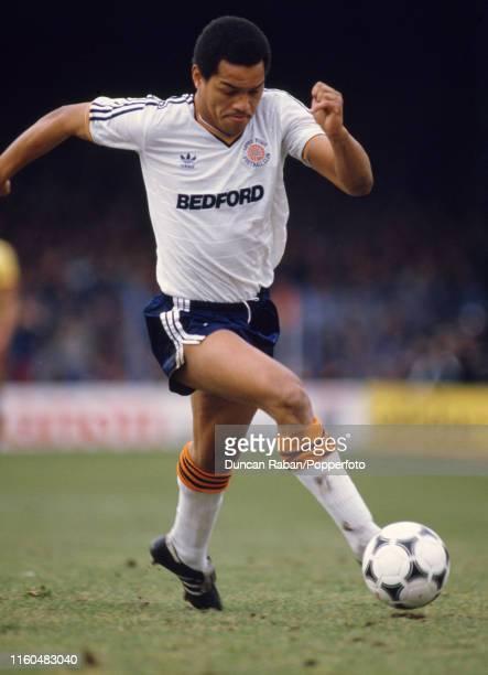 Brian Stein of Luton Town in action, circa 1988.