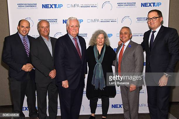 Brian Stelter, host, Reliable Sources and senior media correspondent, CNN Worldwide, Robert A. Sauerberg Jr., president and CEO of Condé Nast, Joseph...