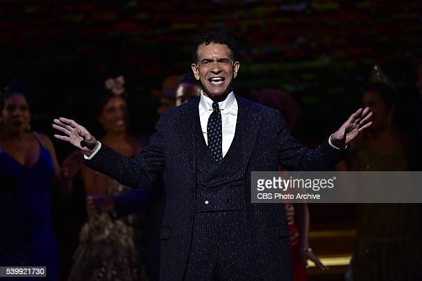 Brian Stokes Mitchell and the cast of Shuffle Along at THE 70TH ANNUAL TONY AWARDS live from the Beacon Theatre in New York City Sunday June 12 on...