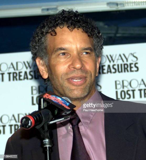 Brian Stokes Mitchell during Bebe Neuwirth and Brian Stokes Mitchell Host a Launch Party For the PBS Event Broadway's Lost Treasures New York at...