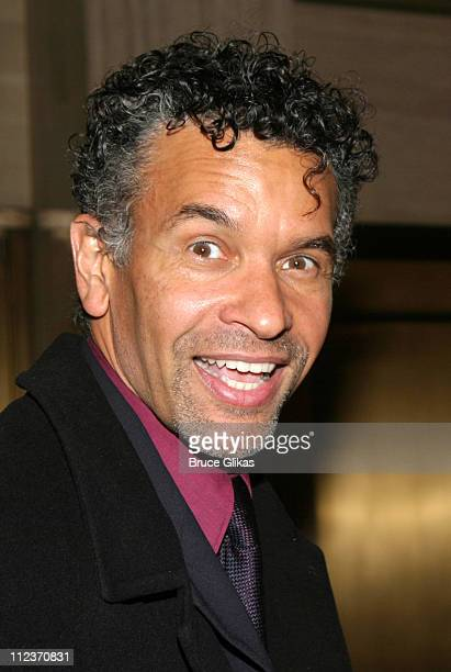 Brian Stokes Mitchell during Opening Night of Anna in The Tropics on Broadway and AfterParty at The Royale Theatre and The Supper Club in New York...