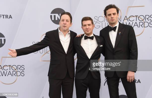 Brian Tarantina Joel Johnstone and Luke Kirby attend the 25th Annual Screen ActorsGuild Awards at The Shrine Auditorium on January 27 2019 in Los...