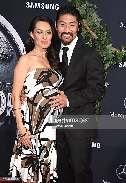 Brian Tee arrives at the 'Jurassic World' World Premiere at Dolby Theatre on June 9 2015 in Hollywood California