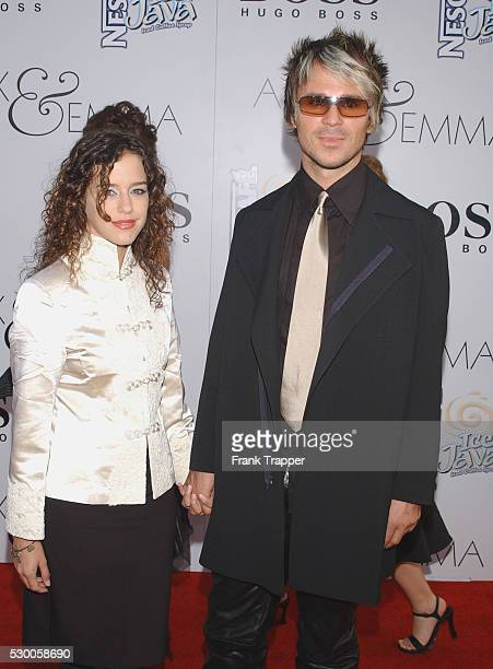Brian Transeau and date arriving at the world premiere of 'Alex Emma' Photo by Frank Trapper/Corbis