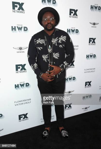Brian Tyree Henry attends FX and Vanity Fair Emmy Celebration at Craft on September 16 2017 in Century City California