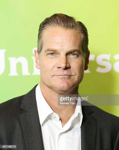 Brian Van Holt arrives at the 2014 Television Critics Association Summer Press Tour - NBCUniversal - Day 2 held at The Beverly Hilton Hotel on July...