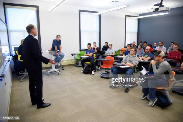 Brian Vaske, CEO of ITI Data, returns to the University of Nebraska-Lincoln campus to share his experiences and knowledge with the undergraduate...