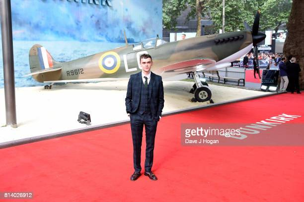 Brian Vernel attends the world premiere of Dunkirk at Odeon Leicester Square on July 13 2017 in London England