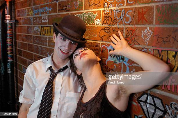 Brian Viglione and Amanda Palmer of The Dresden Dolls
