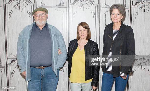"""Brian Vokes, Jan Vokes, and Louise Osmond, attend """"Dark Horse"""" at AOL Studios In New York on May 4, 2016 in New York City."""