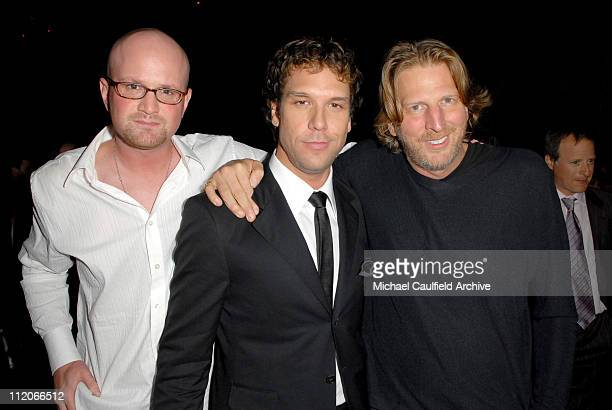 Brian Volk Weiss producer Dane Cook and Barry Katz producer