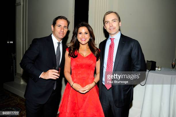 Brian Weinstein Gigi Stone Woods and Ian Woods attend The Opportunity Network's 11th Annual Night of Opportunity Gala at Cipriani Wall Street on...