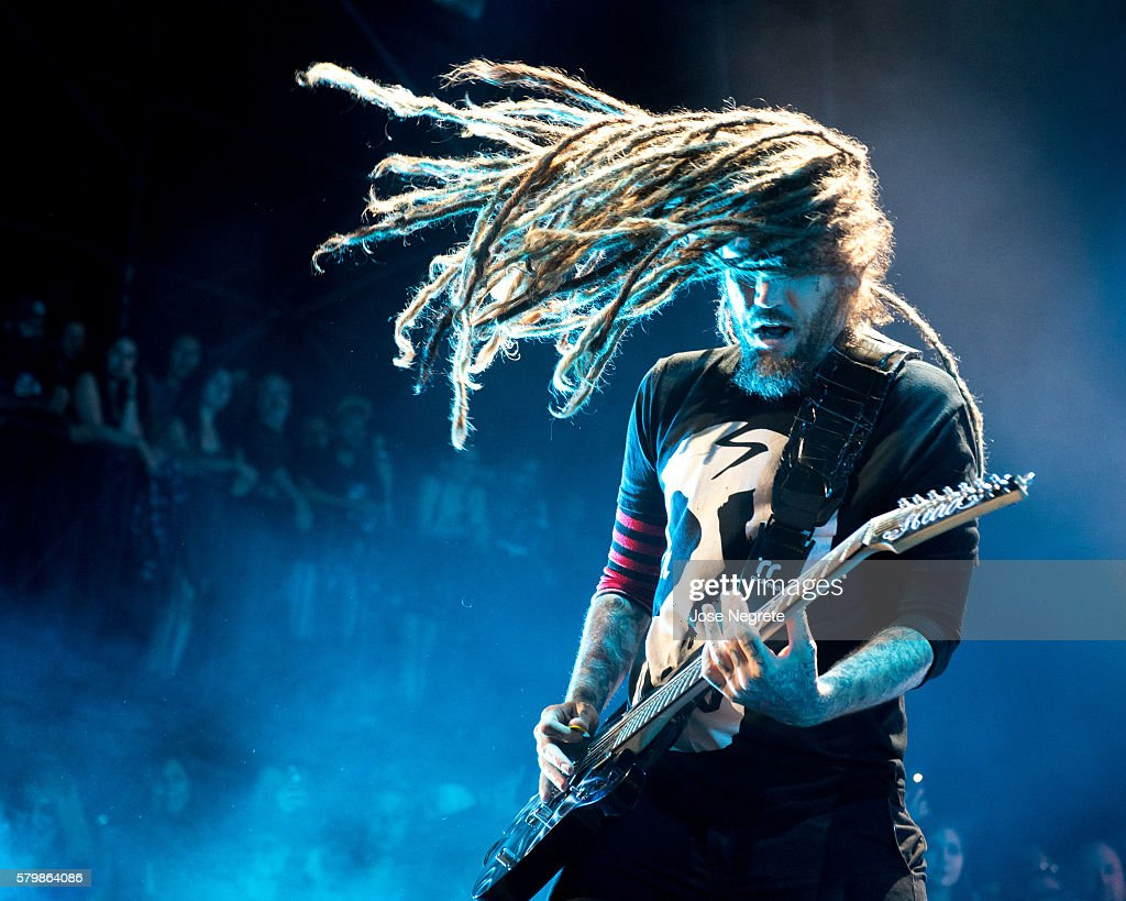Korn And Rob Zombie Perform At Irvine Meadows Amphitheatre