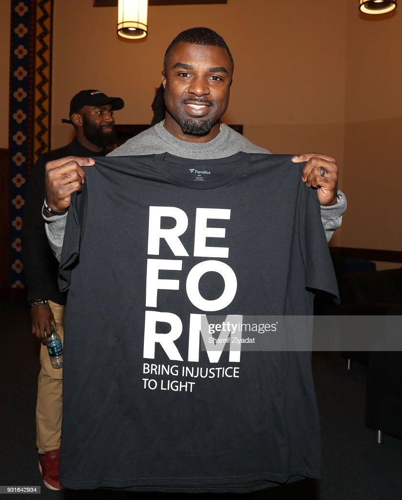 Reform: Bringing Injustice To Light : News Photo