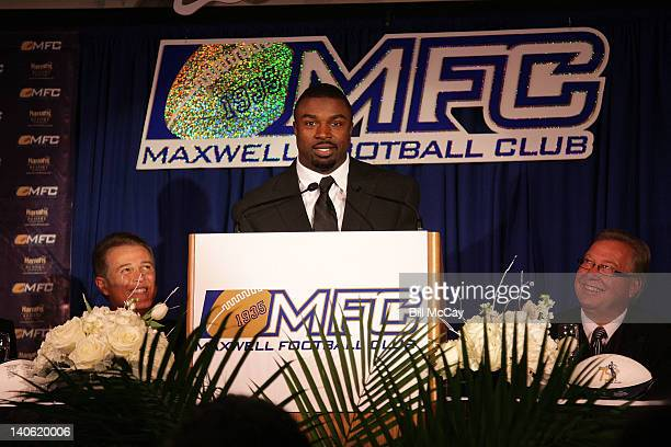 Brian Westbrook attends the 75th Annual Maxwell Football Club National Awards Dinner at Harrah's Resort March 2 2012 in Atlantic City New Jersey