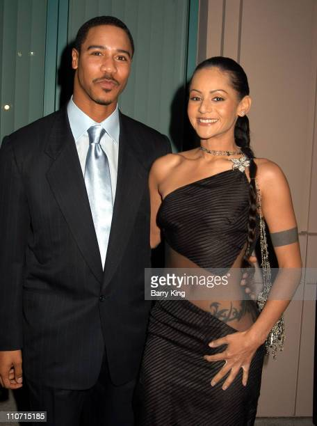 Brian White and Persia White during Academy Of Television Arts Sciences Presents TV Cares Ribbon Of Hope Celebration 2004 at Leonard H Goldenson...