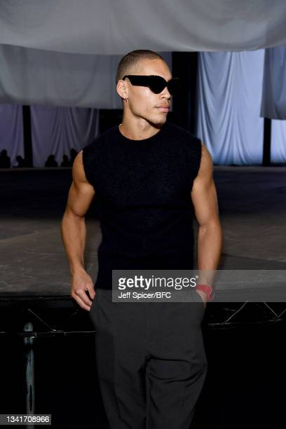 Brian Whittaker attends the COS show at The Roundhouse during London Fashion Week September 2021 on September 21, 2021 in London, England.