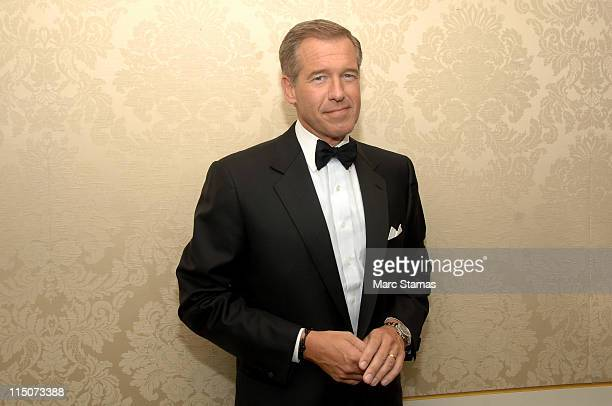 Brian Williams attends the 2011 Museum of the Moving Image Gala honoring Brian Williams Kenneth Lowe at the St Regis Hotel on June 2 2011 in New York...