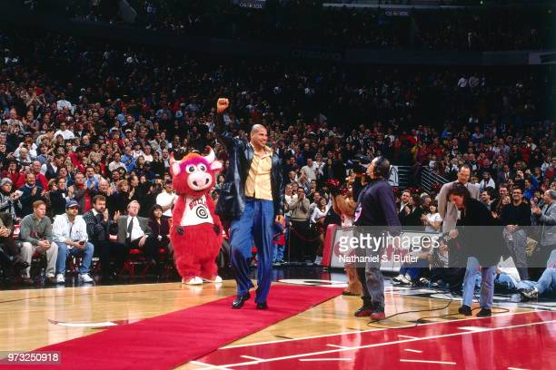 Brian Williams celebrates during a game played on November 1 1997 at the First Union Arena in Philadelphia Pennsylvania NOTE TO USER User expressly...