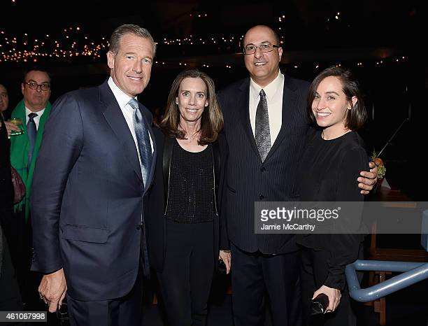 Brian Williams Jane Stoddard WilliamsIdo Aharoni Consul General of Israel in New York and guest attend the Girls season four series premiere after...