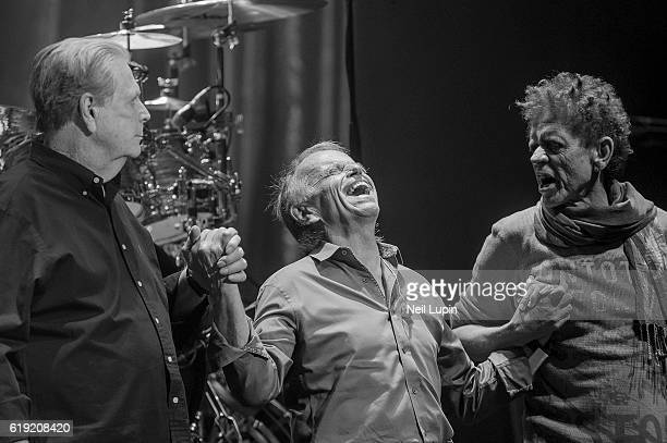Brian Wilson, Al Jardine and Blondie Chaplin perform Pet Sounds with Brian Wilson at the Royal Albert Hall on October 28, 2016 in London, England.