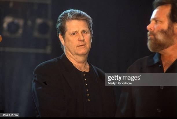 Brian Wilson And Carl Wilson of the Beach Boys, Brixton, London, United Kingdom, 1996.
