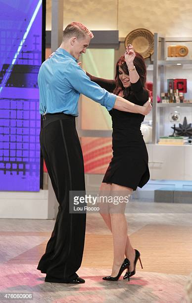 THE VIEW Brian Wilson and Melinda Wilson Kimberly Guilfoyle are the guests today along with a performance from Something Rotten' Friday June 5 2015...