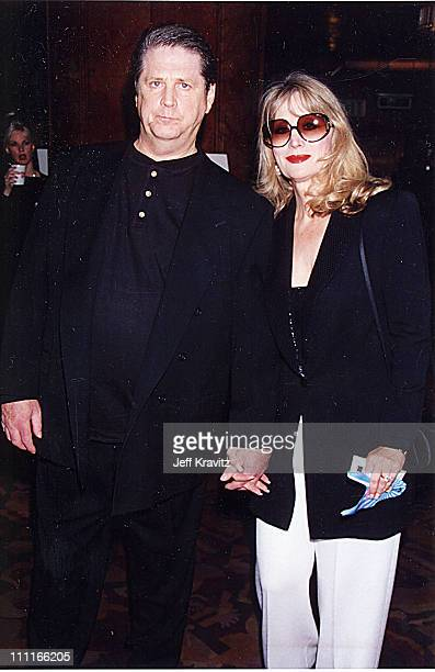 Brian Wilson and wife Melinda at the 1995 MTV Video Music Awards in New York City
