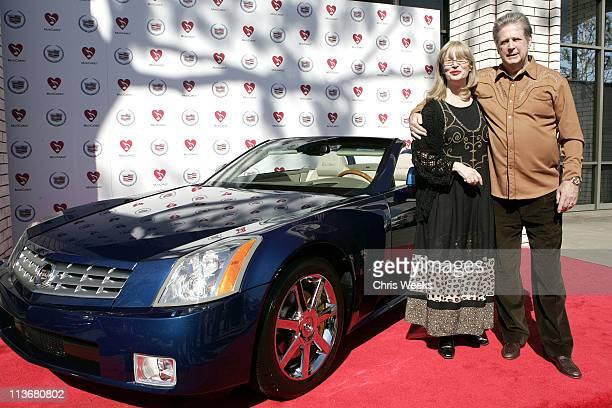 Brian Wilson and wife Melinda Wilson