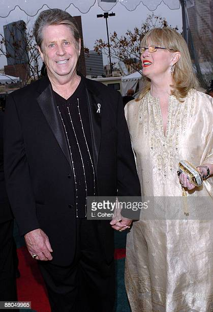 Brian Wilson and wife Melinda Wilson Photo by L Cohen/WireImage for The Recording Academy