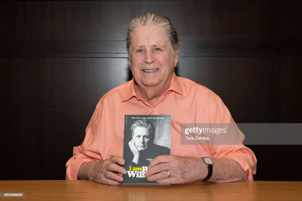 "Brian Wilson Celebrates Paperback Release Of ""I Am Brian Wilson"""