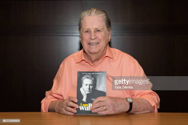 Brian Wilson attends his book signing for I Am Brian Wilson A Memoir at Barnes Noble at The Grove on October 19 2017 in Los Angeles California