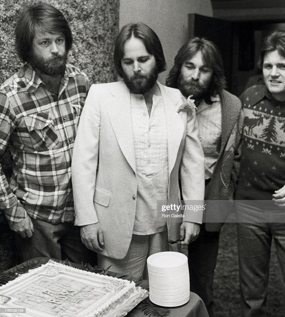 Brian Wilson Carl Dennis And Bruce Johnston Of The Beach Boys