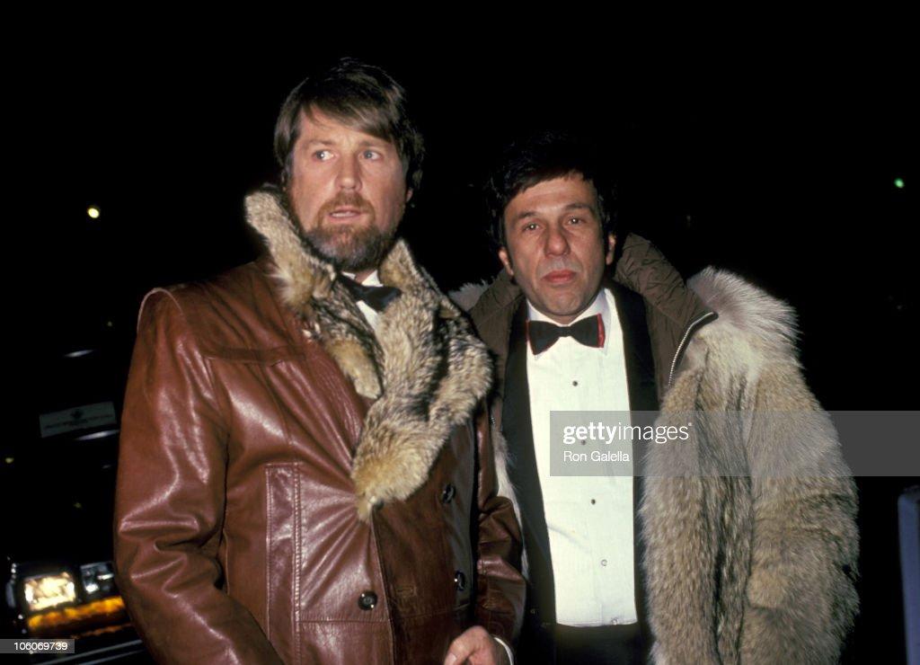 Brian Wilson of the Beach Boys and Eugene Landy Sighting at Elaine's Restaurant