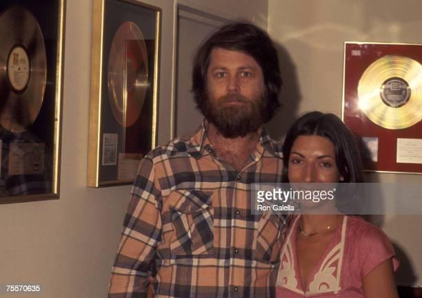Brian Wilson Of The Beach Boys And Wife Marilyn