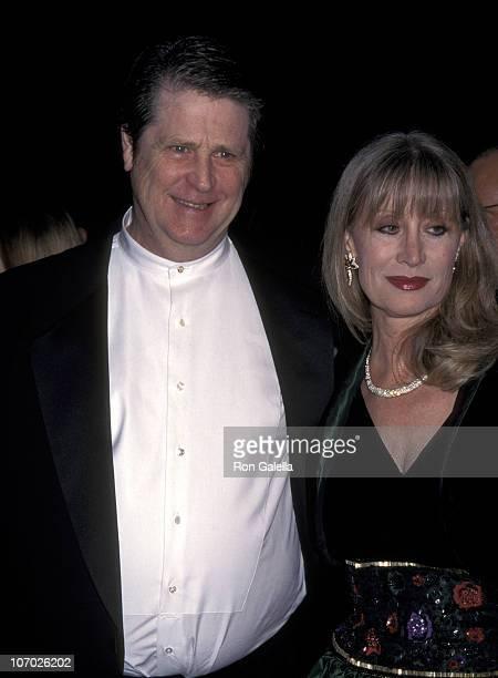 Brian Wilson Of The Beach Boys And Wife Melinda Ledbetter
