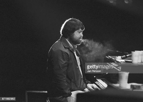Brian Wilson of The Beach Boys performing at Tivoli Gardens Copenhagen Denmark June 1980